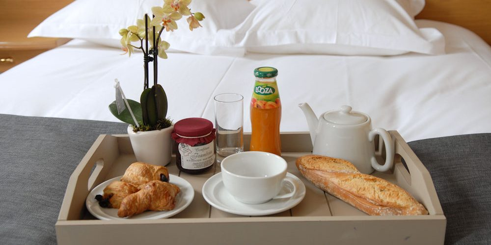 Tray Breakfast In Bed Hotel Baie De Somme